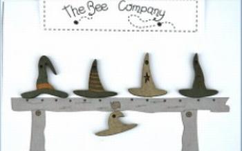Boutons Chapeaux de Sorcière BeeCie TBHA7
