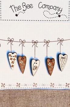 5 Coeurs LOVE Bee Cie TB3CL