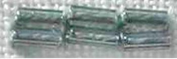 Perles Longues Gris Foncé 7801