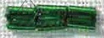 Perles Longues Vertes 7601