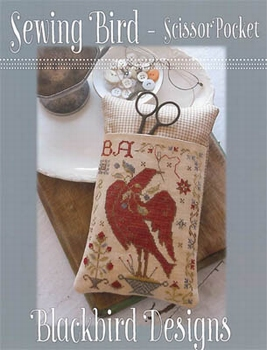 BBD Sewing Bird Scissors Pocket