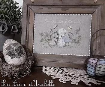 Les Petits Lapins de Paques, Le Lin d'Isabelle