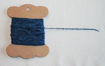 MAB 7 Mini fil chenille Bleu foncé