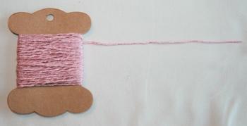 MAB 9 Fil irrégulier Rose brillant