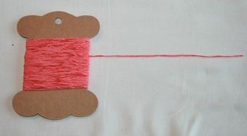 MAB 3 Mini fil chenille Corail