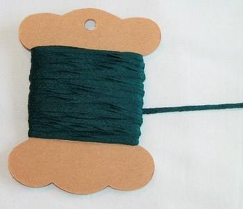 MAB 40 Lacet plat Vert très foncé