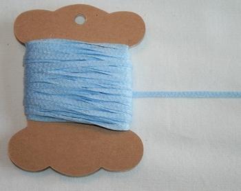 MAB 29 Lacet plat Bleu Pâle