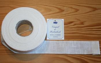 Bande à broder Vaupel 3 cm Blanc  par 50 cm