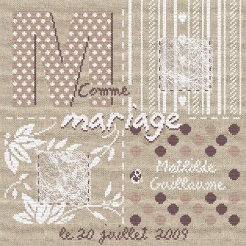 M009 M comme Mariage