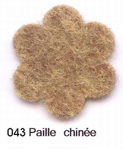 Feutrine Paille Chinée CP043
