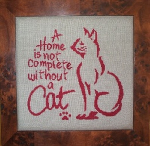 A home is not complete without a cat R71