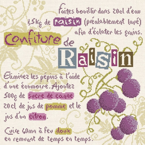 G014 Confiture de raisin