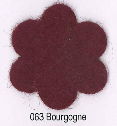 Feutrine Bourgogne CP063