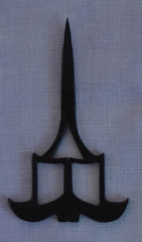 Kelmscott Witch Boot Scissors
