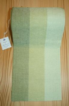 Bande à broder Vaupel 3 couleurs vertes 20 cm  par 50 cm