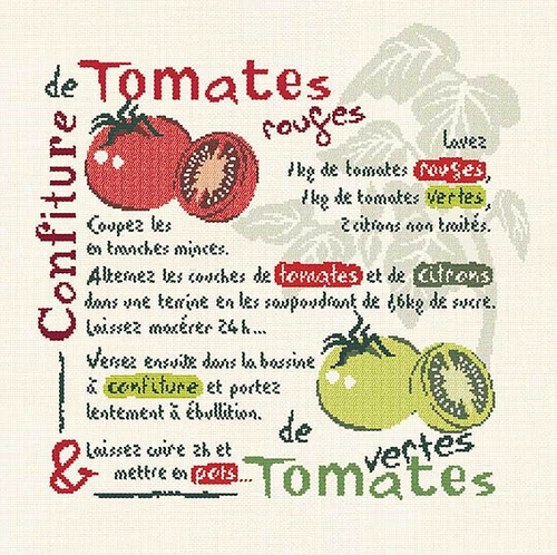 G003 Confiture de tomates rouges