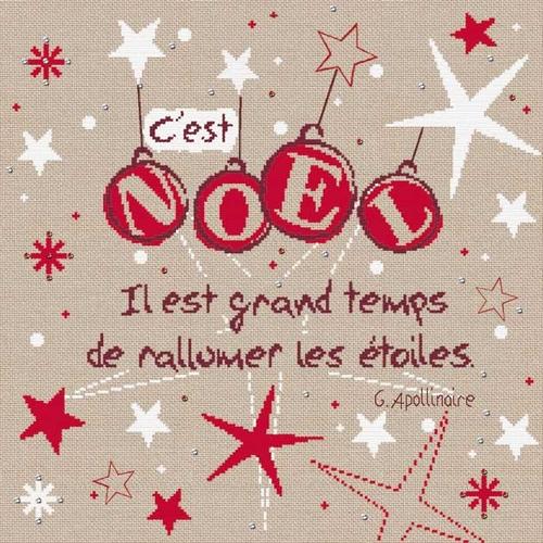 N021 Les étoiles de Noël