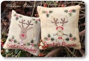 Mme Chantilly Santa's Reindeer & Bunnie