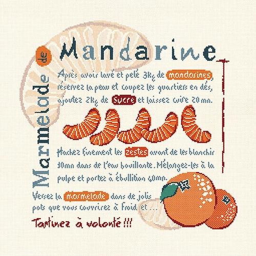 G002 Marmelade de mandarines