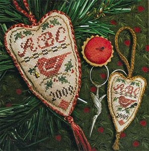 Homespun Eleg Festive Redbird