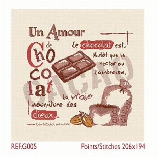 G005 Un amour de chocolat
