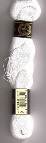 DMC 115/EA Blanc perlé n°8