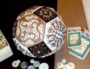 The Quaker Button Ball Amarylys Artwork