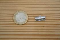 Fermoir griffe argenté 16mm