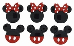 Dress it up Mickey and Minnie