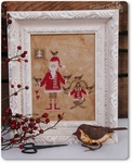 Mme Chantilly Santa and the little birds