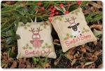 Mme Chantilly Santa's Owl &Sheep