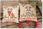 Mme Chantilly Santa's Fox and Raccoon