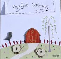 Etable et moutons TB79A