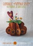Kit feutrine Citrouille Pumpkin Spice