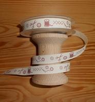 Ruban Couture et point de croix par 50 cm