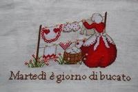 Serenita di Campagna Mardi est une journée de lessive CV90