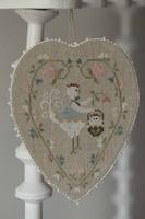 Coeur de Poule Blanche Tralala