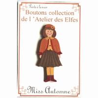 Boutons Miss Automne Atelier des Elfes