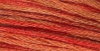 GA Sampler Threads Burnt Orange 0550