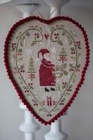 Coeur Père Noël Tralala