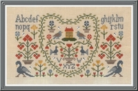 Jardin Privé New Antique Sampler DM33