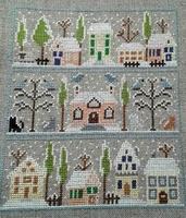 Maisons sous la neige 1 Paola Gattiblu