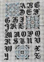 Alphabet Noir Paola Gattiblu