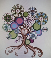 Serenita di Campagna Mandala Multicolor CV123