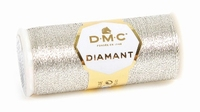 DMC Fil Diamant D168 Argenté Clair