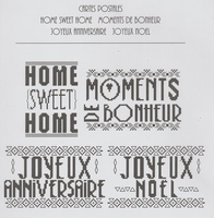 Cartes Postales Moments de Bonheur AFDLY