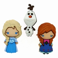 Dress it up Elsa, Anna & Olaf