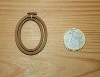 Mini Tambour Ovale Portrait Moyen Modèle