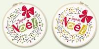 N041 Couronne Joyeux Noël