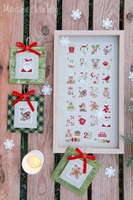 Mme Chantilly Christmas Stamps